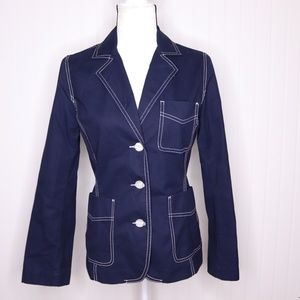 Isaac Mizrahi for Target Fitted Jacket Size Small